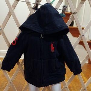 ❤9m ralph Lauren polo hoodie jacket❤